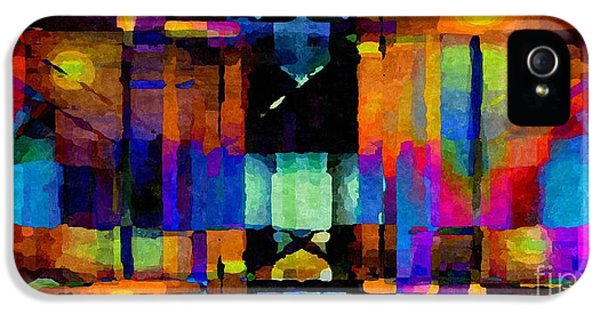 Admin Prints iPhone 5 Cases - Abstract Palette March 2013 - 012 - AMCG iPhone 5 Case by Michael C Geraghty