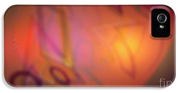 Admin Prints iPhone 5 Cases - ABSTRACT V1a0017 - AMCG Distortions iPhone 5 Case by Michael C Geraghty
