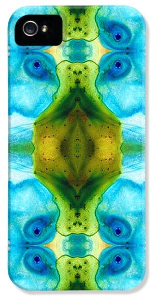 Eco iPhone 5 Cases - Abundant Life - Pattern Art by Sharon Cummings iPhone 5 Case by Sharon Cummings