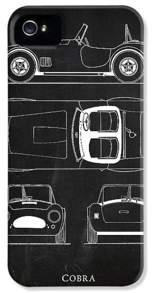 Ac Cobra IPhone 5 / 5s Case by Mark Rogan