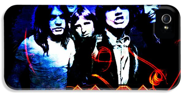 Ac/dc  IPhone 5 / 5s Case by Absinthe Art By Michelle LeAnn Scott