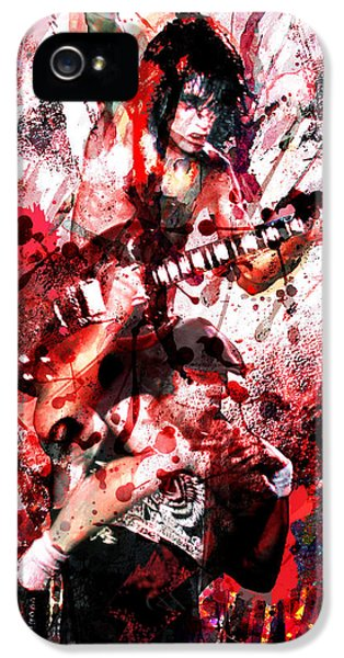 Ac Dc Original  IPhone 5 / 5s Case by Ryan Rock Artist