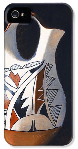 Pueblo iPhone 5 Cases - Acoma Wedding Vase iPhone 5 Case by Jack Atkins
