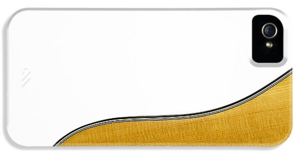 Acoustic iPhone 5 Cases - Acoustic Curve iPhone 5 Case by Bob Orsillo