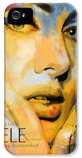 Adele IPhone 5 / 5s Case by Corporate Art Task Force