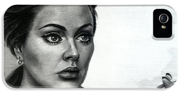 Pop Icon iPhone 5 Cases - Adele iPhone 5 Case by Fithi Abraham