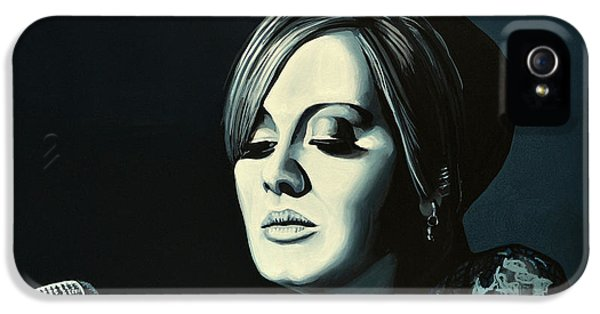 Festival iPhone 5 Cases - Adele Skyfall iPhone 5 Case by Paul Meijering