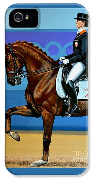 Bronze iPhone 5 Cases - Adelinde Cornelissen on Parzival iPhone 5 Case by Paul Meijering