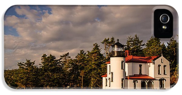 Casey iPhone 5 Cases - Admiralty Head Lighthouse iPhone 5 Case by Dan Mihai