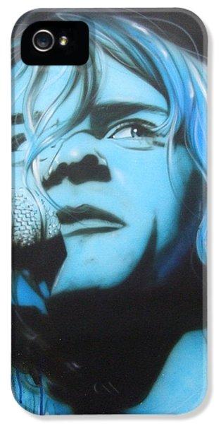 Kurt Cobain iPhone 5 Cases - Aero Zeppelin iPhone 5 Case by Christian Chapman Art
