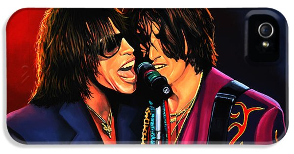 Drug iPhone 5 Cases - Aerosmith Toxic Twins iPhone 5 Case by Paul Meijering