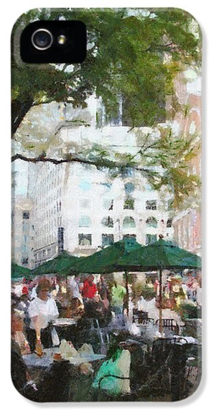 Afternoon iPhone 5 Cases - Afternoon at Faneuil Hall iPhone 5 Case by Jeff Kolker