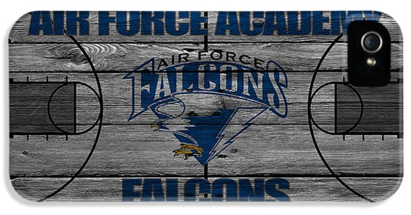 Air Force One iPhone 5 Cases - Air Force Falcons iPhone 5 Case by Joe Hamilton