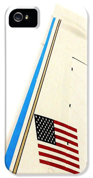 Air Force One iPhone 5 Cases - Air Force One iPhone 5 Case by Benjamin Yeager