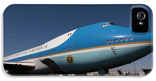 Air Force One iPhone 5 Cases - Air Force One PSP iPhone 5 Case by John Daly