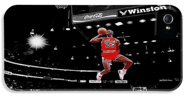 Michael iPhone 5 Cases - Air Jordan iPhone 5 Case by Brian Reaves