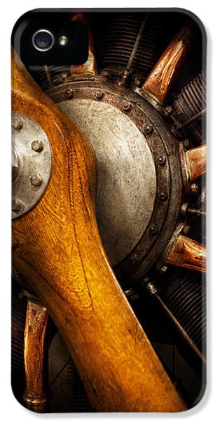 Engine iPhone 5 Cases - Air - Pilot - You got props iPhone 5 Case by Mike Savad