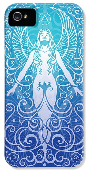 Gaia iPhone 5 Cases - Air Spirit v.2 iPhone 5 Case by Cristina McAllister