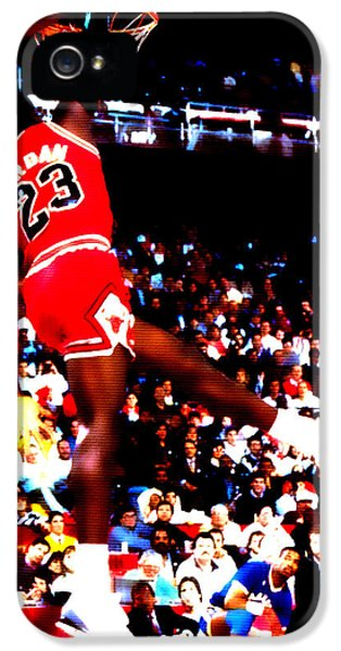 Pippen iPhone 5 Cases - Airness iPhone 5 Case by Brian Reaves