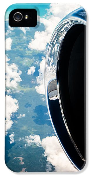 Engine iPhone 5 Cases - Tropical Skies iPhone 5 Case by Parker Cunningham