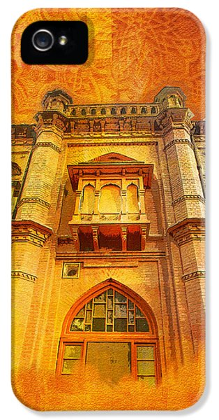 Pakistan iPhone 5 Cases - Aitchison College iPhone 5 Case by Catf