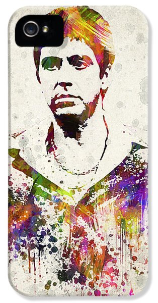 Tony Montana iPhone 5 Cases - Al Pacino iPhone 5 Case by Aged Pixel