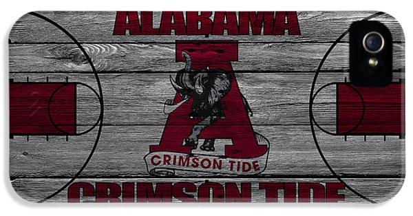 Crimson Tide iPhone 5 Cases - Alabama Crimson Tide iPhone 5 Case by Joe Hamilton