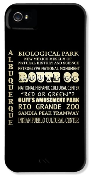 National Museum Of America History iPhone 5 Cases - Albuquerque New Mexico Famous Landmarks iPhone 5 Case by Patricia Lintner