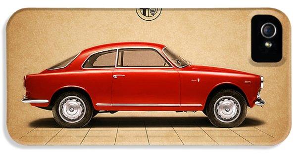 Alfa Romeo iPhone 5 Cases - Alfa Romeo Giulietta Sprint iPhone 5 Case by Mark Rogan