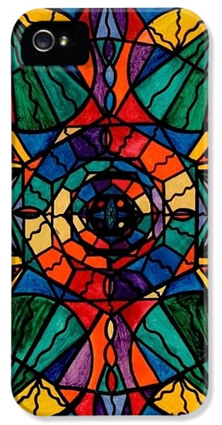 Image iPhone 5 Cases - Alignment iPhone 5 Case by Teal Eye  Print Store