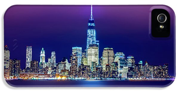 Hudson River iPhone 5 Cases - All That Glitters iPhone 5 Case by Az Jackson