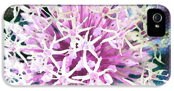 Reflective iPhone 5 Cases - Allium Series - After the Rain iPhone 5 Case by Moon Stumpp