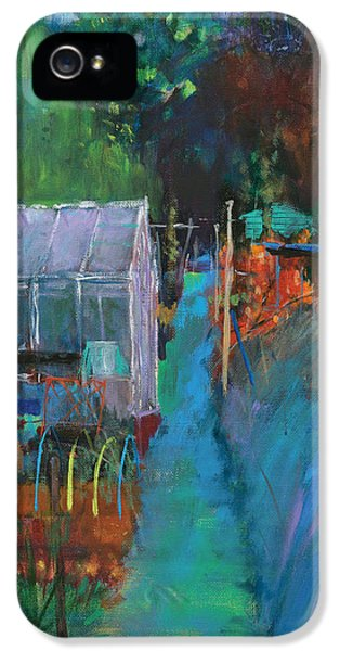 Potting Shed iPhone 5 Cases - Allotment iPhone 5 Case by Marco Cazzulini