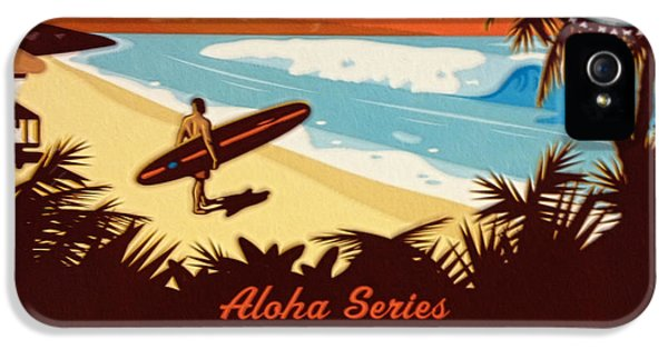 Aloha Series 1 IPhone 5 / 5s Case by Cheryl Young