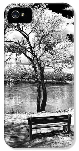 Infrared iPhone 5 Cases - Along the River iPhone 5 Case by John Rizzuto