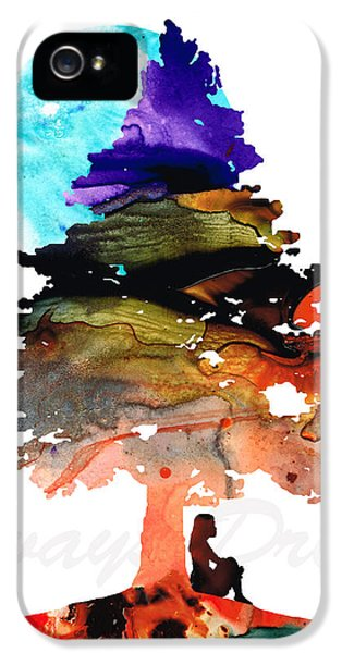 Beliefs iPhone 5 Cases - Always Dream - Inspirational Art By Sharon Cummings iPhone 5 Case by Sharon Cummings