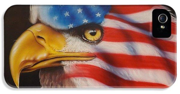 Vietnam Memorial iPhone 5 Cases - American Pride iPhone 5 Case by Darren Robinson