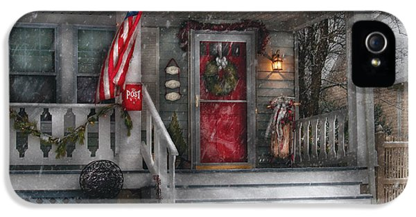 Realtor iPhone 5 Cases - Americana - A Tribute to Rockwell - Westfield NJ iPhone 5 Case by Mike Savad