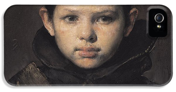 Clothing iPhone 5 Cases - Amo iPhone 5 Case by Odd Nerdrum
