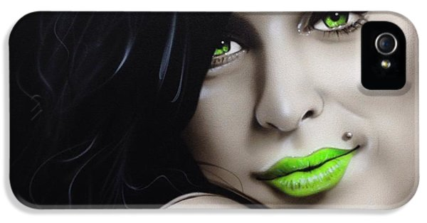 Amy Winehouse - 'amy Jade' IPhone 5 / 5s Case by Christian Chapman Art
