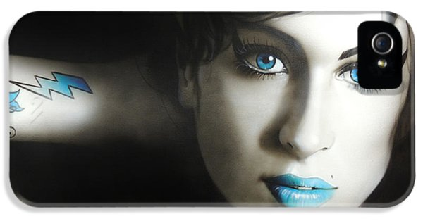 Amy Winehouse - 'amy 'n' Blues' IPhone 5 / 5s Case by Christian Chapman Art