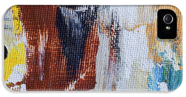 Burnt Umber iPhone 5 Cases - An Abstract Sort Of Weekend iPhone 5 Case by Heidi Smith