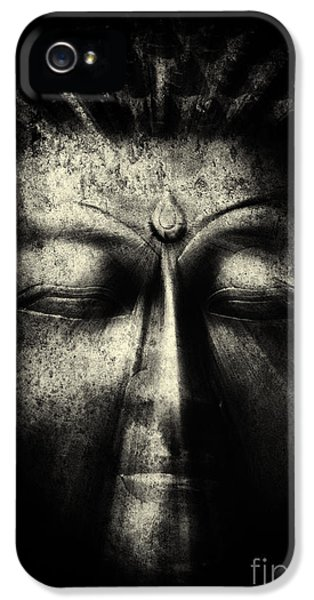 Third Eye iPhone 5 Cases - Ancient Eyes iPhone 5 Case by Tim Gainey