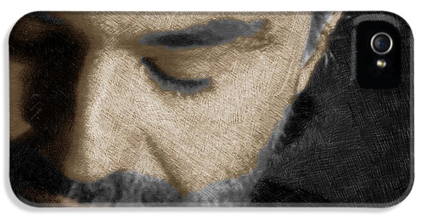 Tony Soprano iPhone 5 Cases - Andrea Bocelli And Square iPhone 5 Case by Tony Rubino