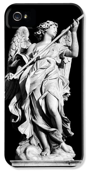 Angelo iPhone 5 Cases - Angel with the Lance iPhone 5 Case by Fabrizio Troiani