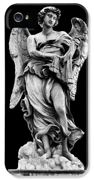Angelo iPhone 5 Cases - Angel with the Whips  iPhone 5 Case by Fabrizio Troiani