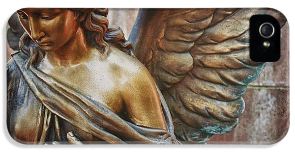 Angelic iPhone 5 Cases - Angelic Contemplation iPhone 5 Case by Terry Rowe