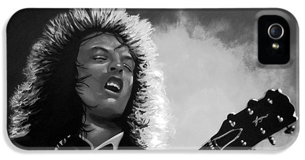 Angus Young IPhone 5 / 5s Case by Meijering Manupix