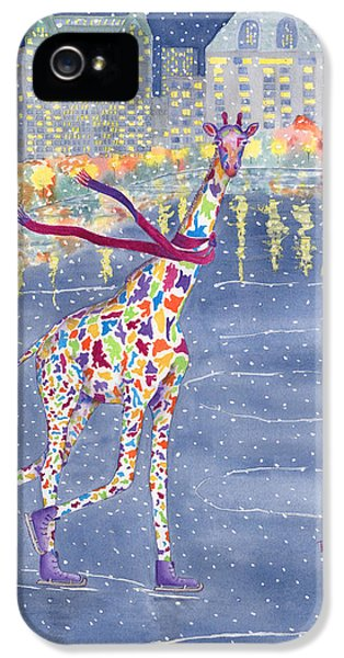 Annabelle On Ice IPhone 5 / 5s Case by Rhonda Leonard