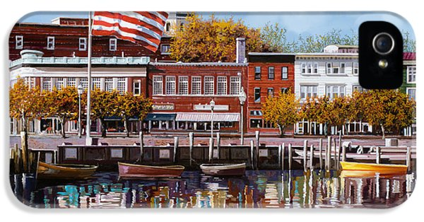 Star iPhone 5 Cases - Annapolis iPhone 5 Case by Guido Borelli